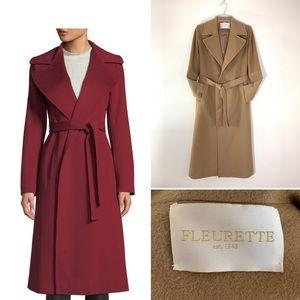 Fleurette maxi wrap coat.  Size 2